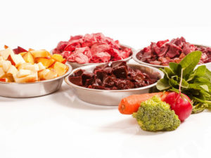 meat and veggies