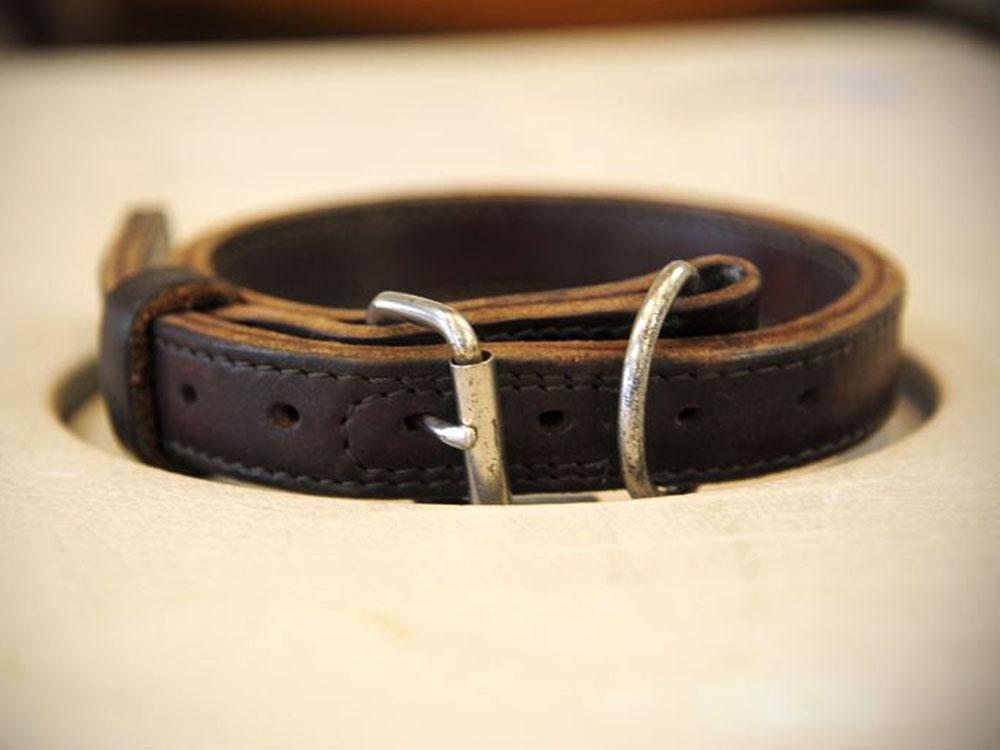belt buckle dog collar