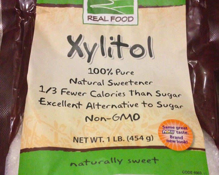 xylitol, which is harmful for cats