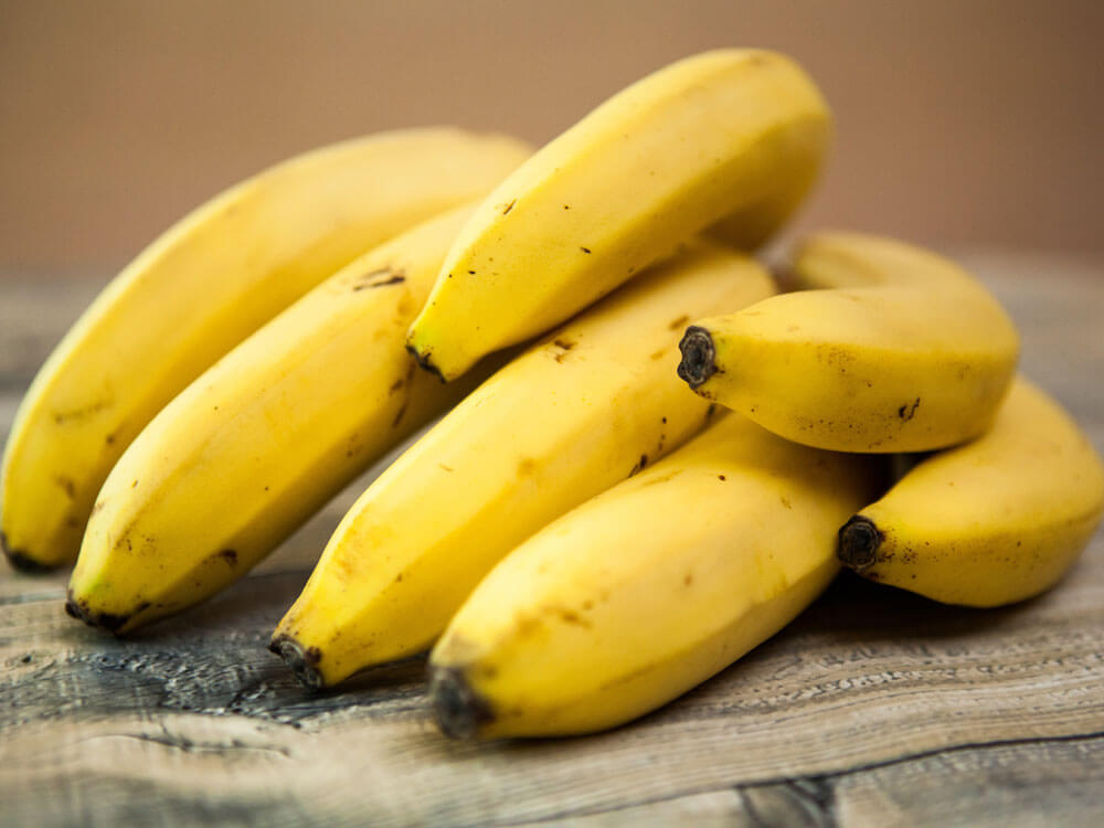 banana is a human food that can be eaten by cats