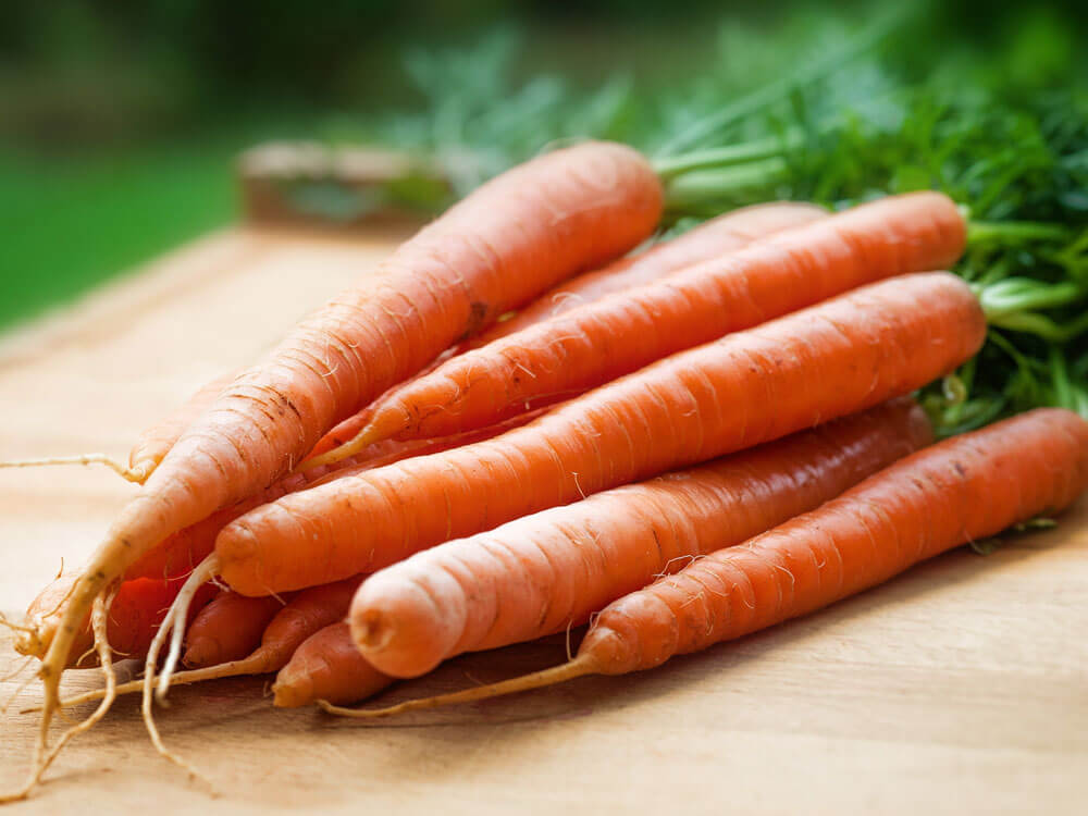 carrots is a human food that can be eaten by cats