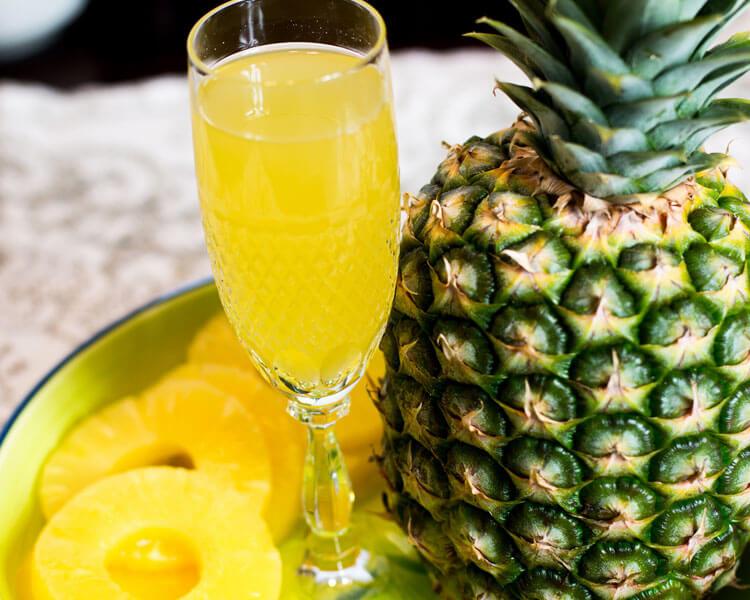 Pineapple, helps to stop dog eating poop