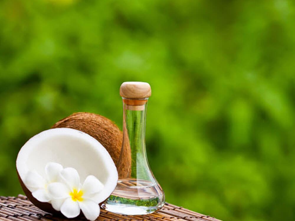 coconut oil, home remedy solution for dog dandruff