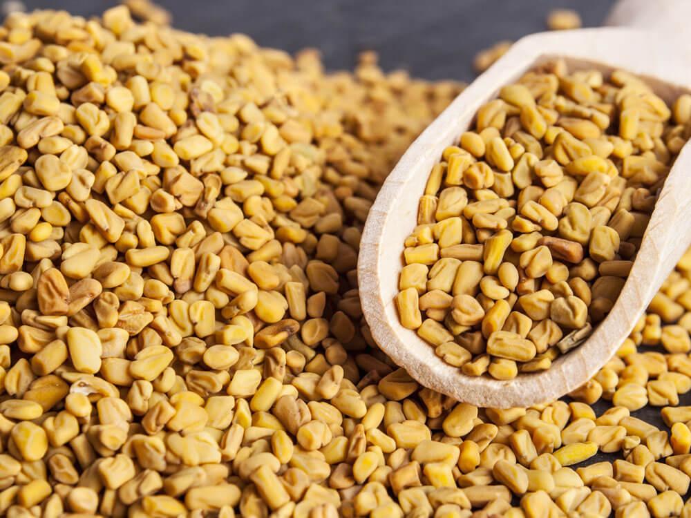 fenugreek seeds, home remedy solution for dog dandruff