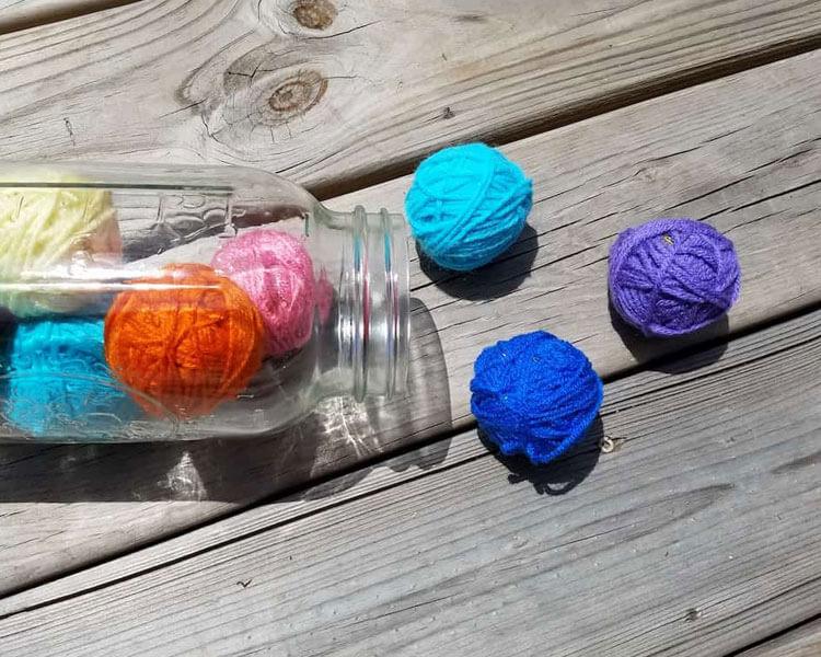 Catnip Yarn Ball