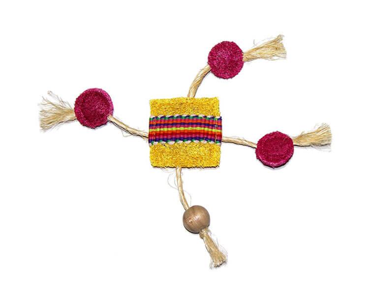 Eco-Loofah Ethnic Maka Talisman Frisbee