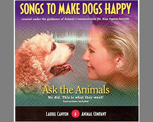 "a photo album of ""Songs to Make Dogs Happy"", (April 2005)"
