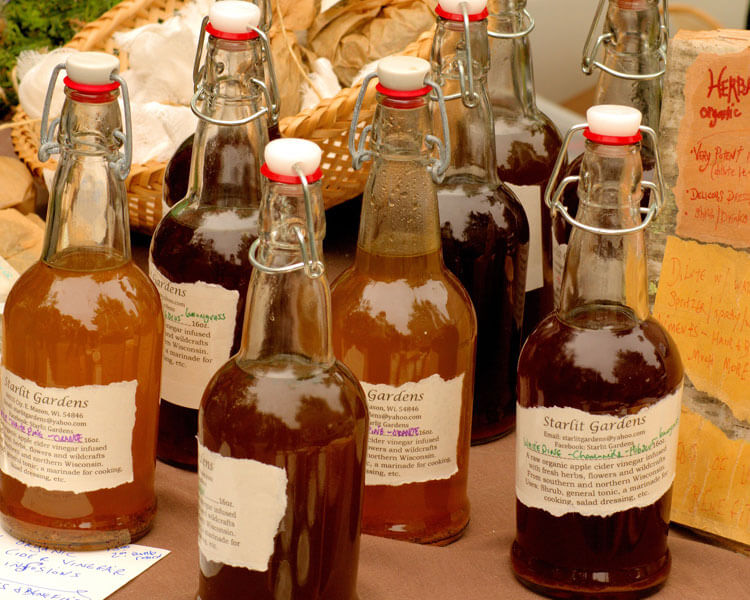 apple cider, one of the treatments for dogs alopecia