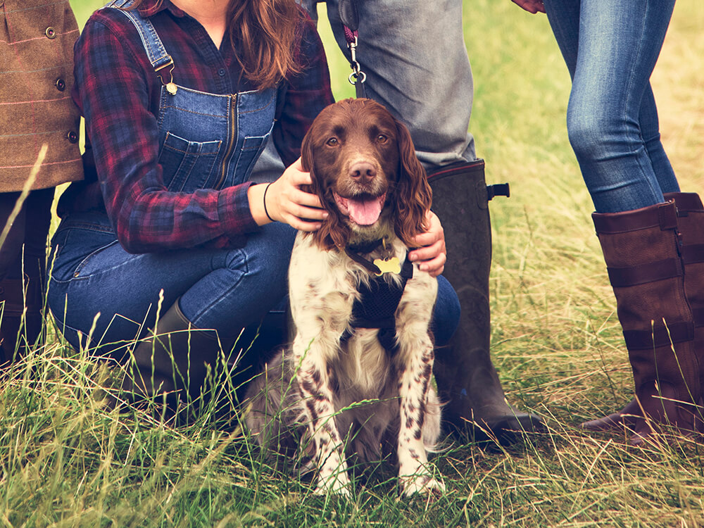 family-dog-pethappiness togetherness concept