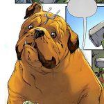 Lockjaw, one of the pet superhero in Stan Lee's Pet Avengers comic-book