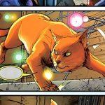 niels, the bouncing feline superhero in Stan Lee's Pet Avengers