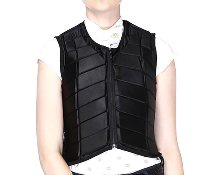 an appropriate tops with body protector