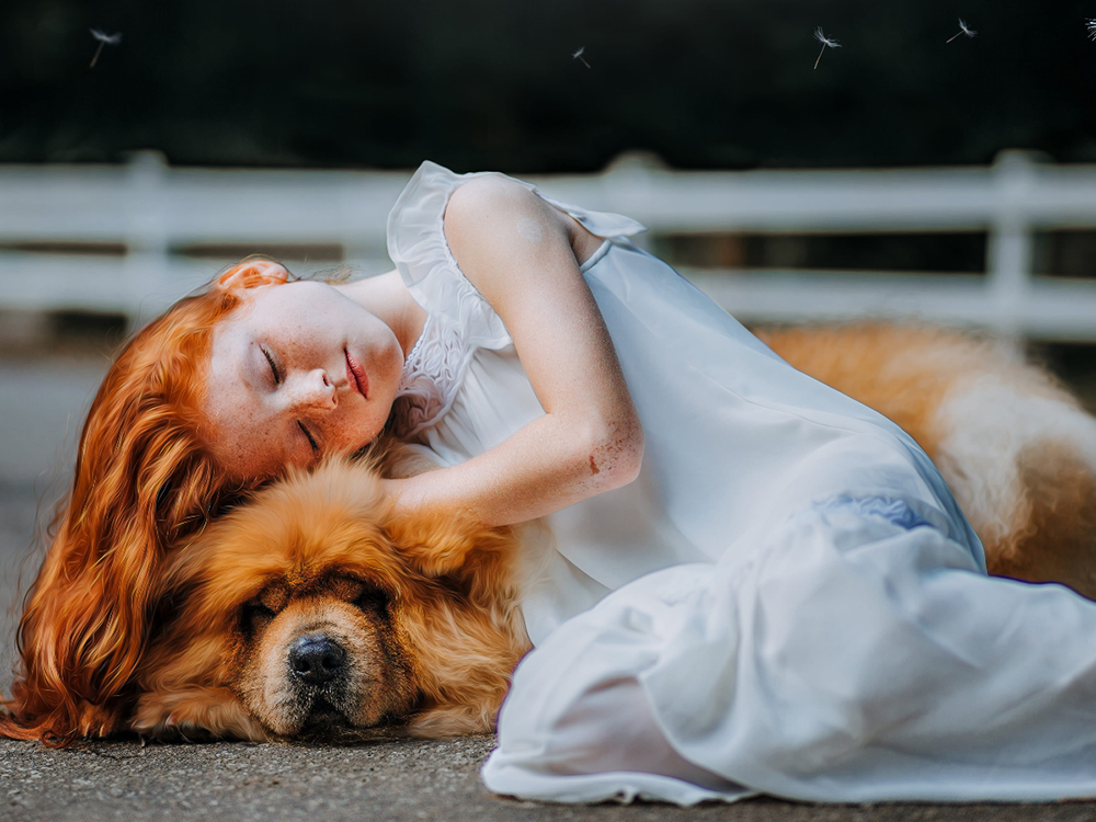 Women Sleep Better When Sharing a Bed with Their Dog