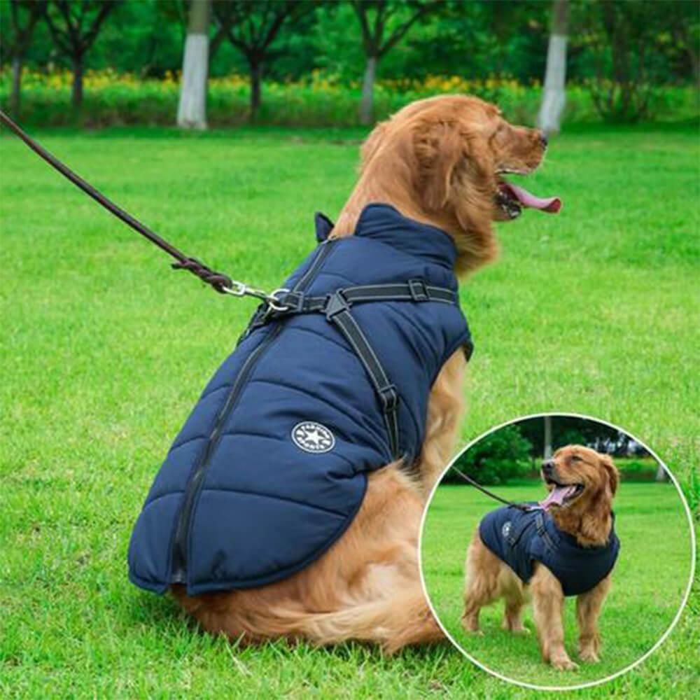waterproof harness jacket